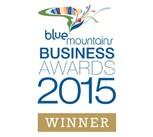 Blue Mountains Business Awards 2015 Winner