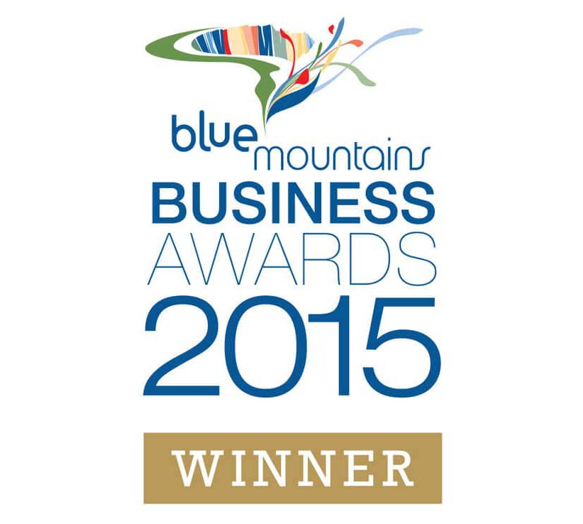 Blue Mountains Business Awards 2015 Winner