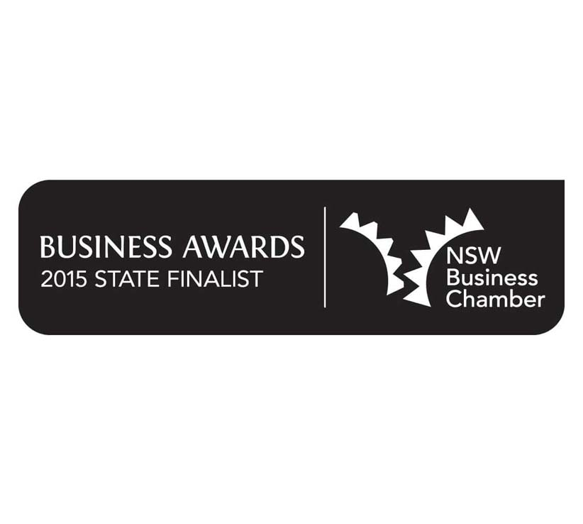 Blue Mountains Business awards 2015 State Finalist
