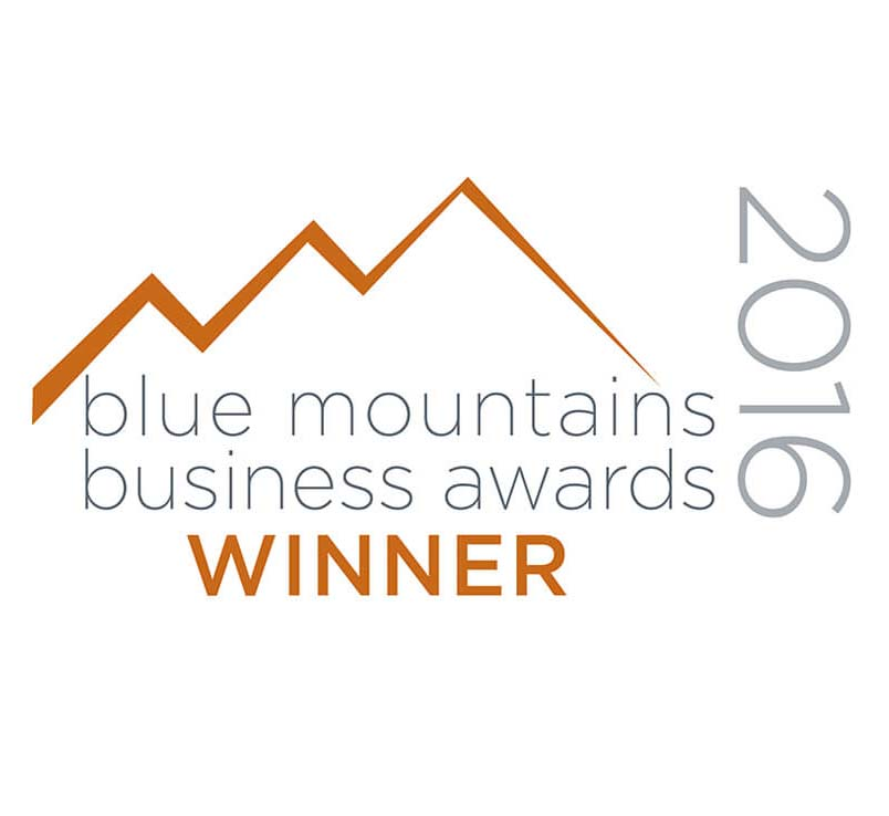 Blue Mts Business awards winner 2016